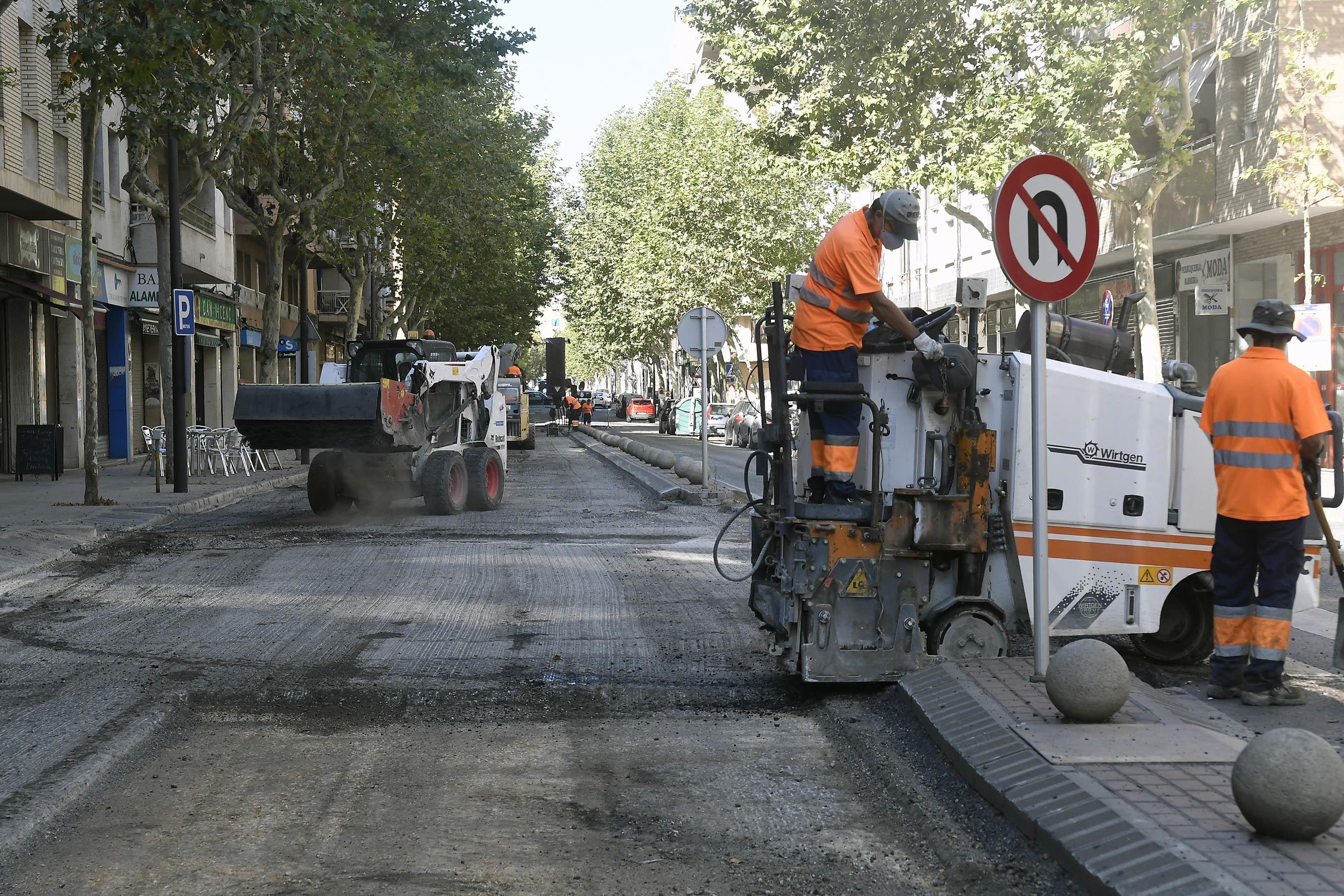 Valorar el servei Asfaltado y conservación de las calzadas (calles, avenidas…) en Reus