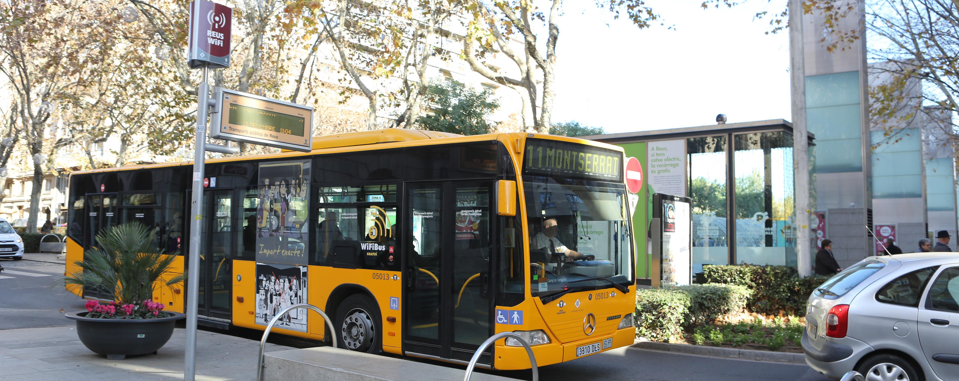 Valorar el servei Calidad y puntualidad del transporte público en Reus