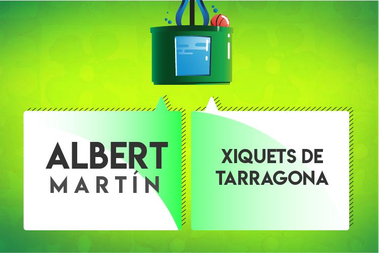 Votar per la festa Albert Martín