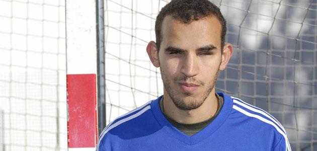 Votar per la festa Youssef El Haddaodui: El Messi invidente